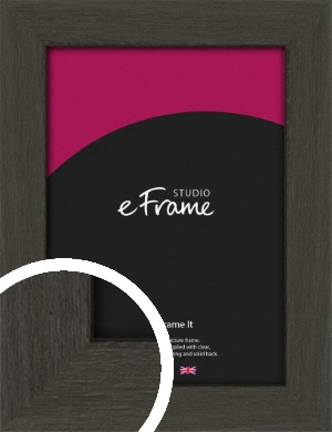Washed Black Picture Frame (VRMP-412)