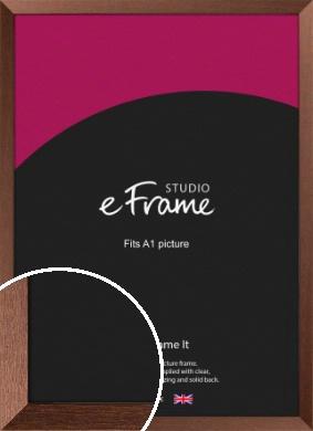 Wide Chestnut Brown Picture Frame, A1 (594x841mm) (VRMP-593-A1)