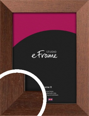 Wide Chestnut Brown Picture Frame (VRMP-593)