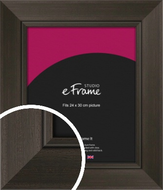 Iconic Brown Picture Frame, 24x30cm (VRMP-617-24x30cm)