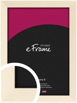 Soft Antique Cream Picture Frame (VRMP-229)