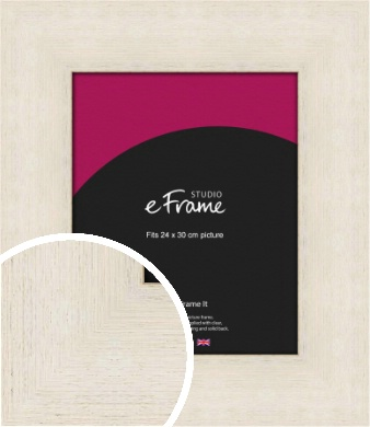 Extra Wide Warm Cream Picture Frame, 24x30cm (VRMP-605-24x30cm)