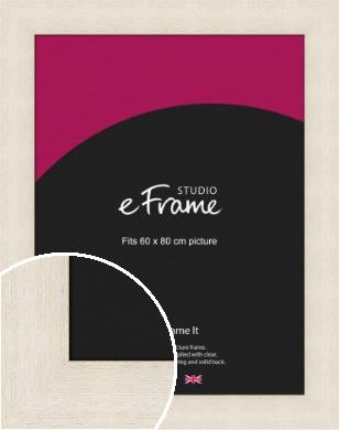 Extra Wide Warm Cream Picture Frame, 60x80cm (VRMP-605-60x80cm)