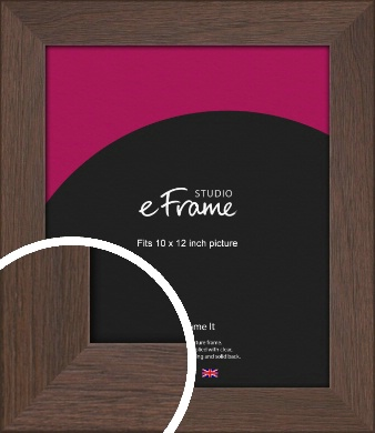 Smoked Brown Picture Frame, 10x12
