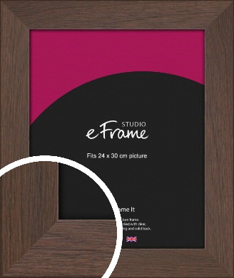 Smoked Brown Picture Frame, 24x30cm (VRMP-1042-24x30cm)