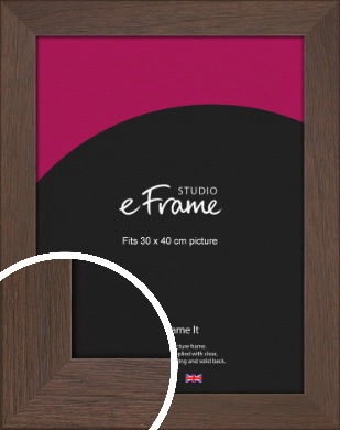 Smoked Brown Picture Frame, 30x40cm (VRMP-1042-30x40cm)