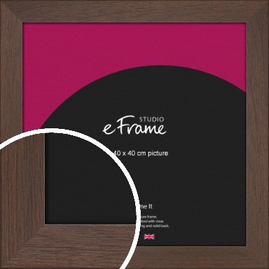 Smoked Brown Picture Frame, 40x40cm (VRMP-1042-40x40cm)
