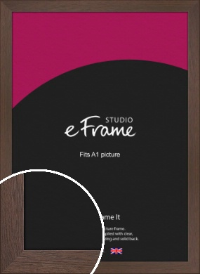 Smoked Brown Picture Frame, A1 (594x841mm) (VRMP-1042-A1)