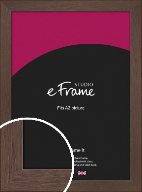 Smoked Brown Picture Frame, A2 (420x594mm) (VRMP-1042-A2)