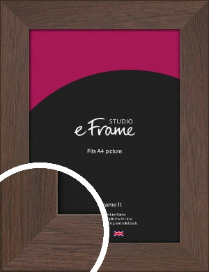 Smoked Brown Picture Frame, A4 (210x297mm) (VRMP-1042-A4)