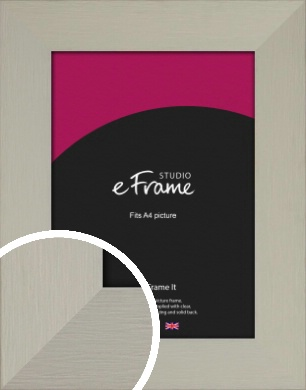 Tranquil Grey Picture Frame, A4 (210x297mm) (VRMP-1044-A4)