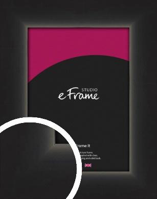 Shallow Curve Black Picture Frame (VRMP-380)