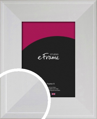Seamless Wide Snow White Picture Frame (VRMP-1072)