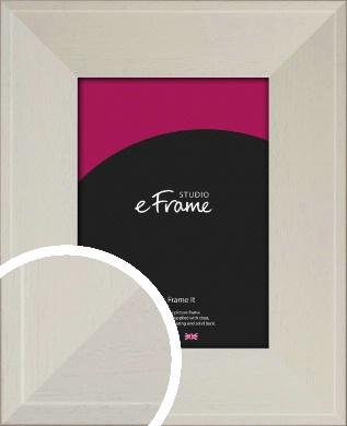 Wide Soft Cream Picture Frame (VRMP-1073)