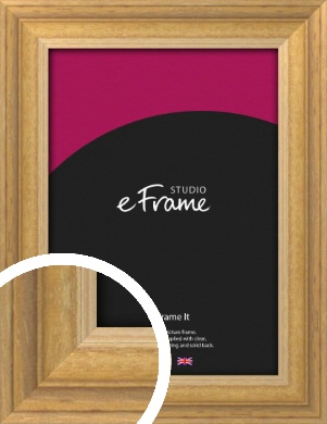 Solid Brown Picture Frame (VRMP-148)