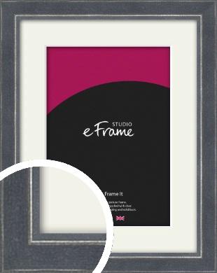 Dreamy Grey Picture Frame & Mount (VRMP-1086-M)