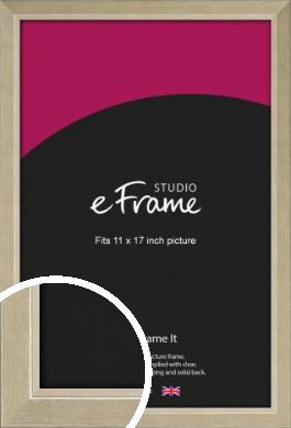 Subtle Gold Picture Frame, 11x17