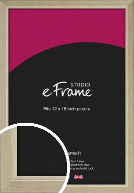 Subtle Gold Picture Frame, 12x18