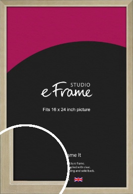Subtle Gold Picture Frame, 16x24
