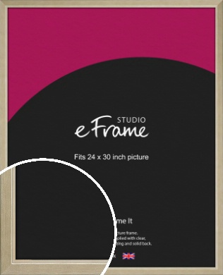 Subtle Gold Picture Frame, 24x30