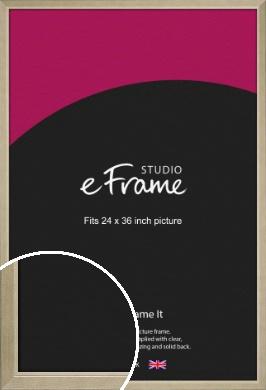 Subtle Gold Picture Frame, 24x36