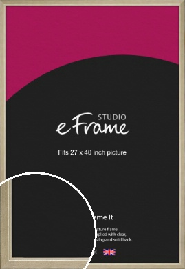 Subtle Gold Picture Frame, 27x40