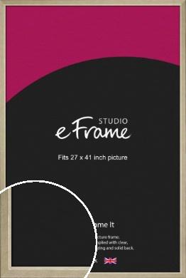 Subtle Gold Picture Frame, 27x41