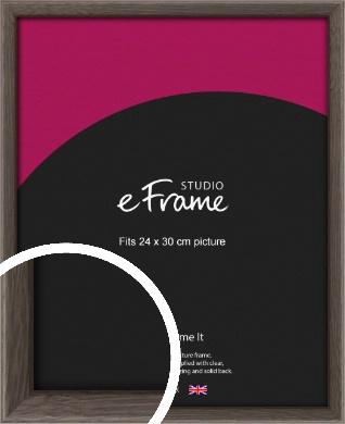 Muted Black Picture Frame, 24x30cm (VRMP-339-24x30cm)