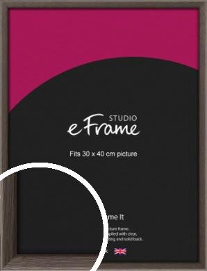 Muted Black Picture Frame, 30x40cm (VRMP-339-30x40cm)