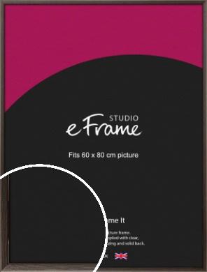Muted Black Picture Frame, 60x80cm (VRMP-339-60x80cm)