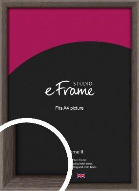 Muted Black Picture Frame, A4 (210x297mm) (VRMP-339-A4)