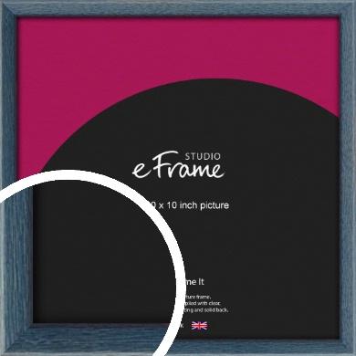 Coastal Blue Picture Frame, 10x10