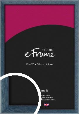 Coastal Blue Picture Frame, 20x30cm (8x12
