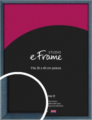Coastal Blue Picture Frame, 30x40cm (VRMP-338-30x40cm)