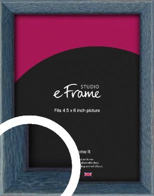 Coastal Blue Picture Frame, 4.5x6