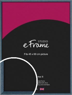 Coastal Blue Picture Frame, 45x60cm (VRMP-338-45x60cm)