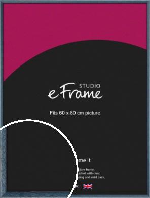 Coastal Blue Picture Frame, 60x80cm (VRMP-338-60x80cm)