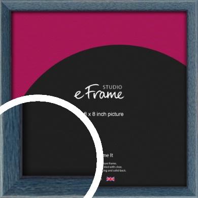 Coastal Blue Picture Frame, 8x8