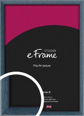 Coastal Blue Picture Frame, A4 (210x297mm) (VRMP-338-A4)