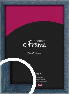 Coastal Blue Picture Frame, A5 (148x210mm) (VRMP-338-A5)