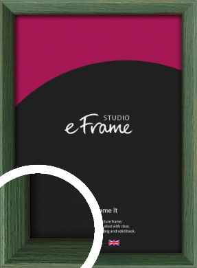 Simple Grain Green Picture Frame (VRMP-335)