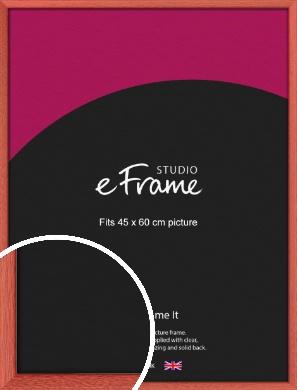 Faded Open Grain Red Picture Frame, 45x60cm (VRMP-334-45x60cm)