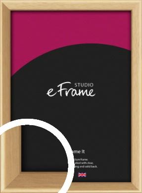 Understated Natural Wood Picture Frame (VRMP-333)