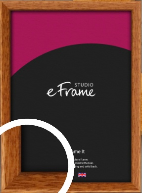 Mid Century Brown Picture Frame (VRMP-340)