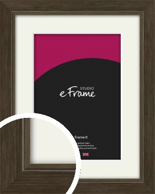 Sleek Warehouse Style Bronze / Copper Picture Frame & Mount (VRMP-1110-M)