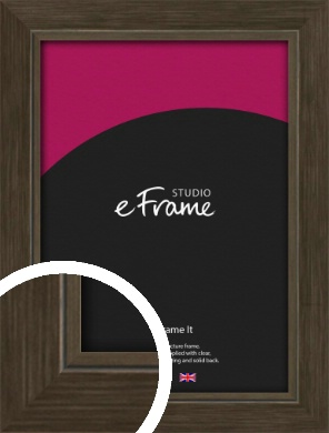 Sleek Warehouse Style Bronze / Copper Picture Frame (VRMP-1110)