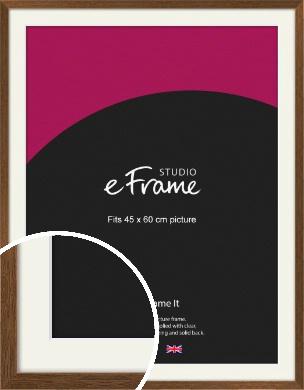 Elegant Timeless Brown Picture Frame & Mount, 45x60cm (VRMP-540-M-45x60cm)