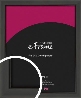 Modern Classic Black Picture Frame, 24x30cm (VRMP-382-24x30cm)