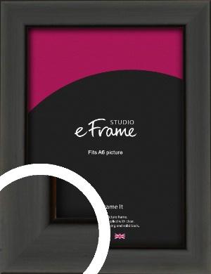 Modern Classic Black Picture Frame, A6 (105x148mm) (VRMP-382-A6)
