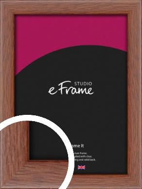 Plain & Simple Brown Picture Frame (VRMP-543)